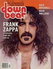 Frank Zappa Dave Holland Downbeat Clipping