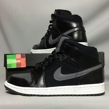 Nike Air Jordan 1 Mid Premium UK8 EUR42.5 US9 852542-001 schwarz ein ich High Dunk 2
