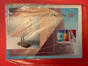 2001 - OPENING NATIONAL MUSEUM OF AUSTRALIA 2001 - 2v Maxi Card set (sealed)