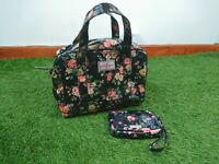 Ladies Cath Kidston Small Floral Boxy Tote Bag and Matching Purse