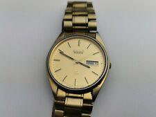 Seiko SQ 5Y23-8A11 Men's Quartz Day / Date Watch, Working, Vintage Seiko Watch