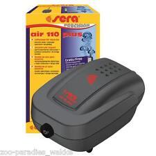 sera air 110 plus - Membranpumpe, Luftpumpe, Durchlüfter, Sauerstoffpumpe 08812