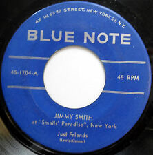 JIMMY SMITH 45 Just Friends / Lover Man JAZZ Blue Note RVG West 63 st 1957 w2419