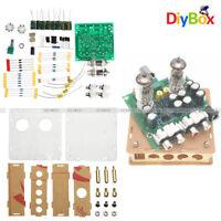 AC12V 6J1 Valve Pre-amp Tube Board Headphone Amplifier+Acrylic Case DIY Kits