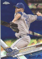 IAN KENNEDY 2017 TOPPS CHROME SAPPHIRE EDITION #449 ONLY 250 MADE