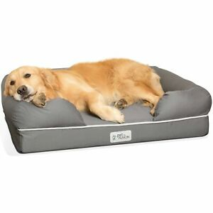PetFusion Ultimate Dog Bed, Solid CertiPur-US Memory Foam Orthopedic Dog ... New