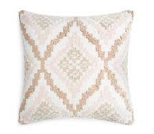 "Sky 20"" x 20"" Diamond Shag Decorative Pillow - NWT"