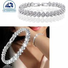 Women Hot Gift Lady Bracelet 925 Sterling Silver Jewellery Classic Solid Bangle