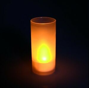 """LED-KERZE McShine """"Safety Candle"""" - inkl. Becher - NEU & SOFORT"""