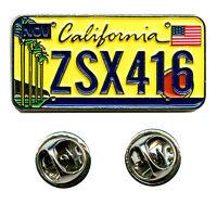 California Kalifornien Sacramento Autokennzeichen USA Badge Pin Anstecker 0642
