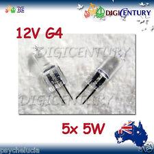 5W 12V G4 HALOGEN GLOBE BULB GARDEN HOME 5 pcs