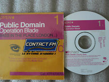 CD-PUBLIC DOMAIN-OPERATION BLADE-LONDON-XTRAVAGANZA/BNG-(CD SINGLE)2000-2TRACK