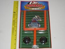 Finger Football Game - w/Suction Cup Goal Post, 2 Sizes Toy Footballs, Sports