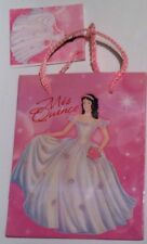 "NEW Mini Gift Bag - 4.5"" X 5.5"" Mis Quince, Quinceanera Girl Birthday Party Ball"