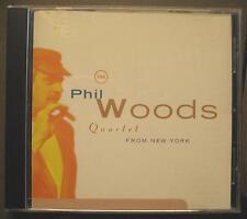 "PHIL WOODS QUARTET ""FROM NEW YORK"" - CD"