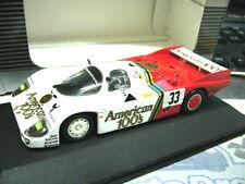 PORSCHE 956 L Le Mans 1985 Fitzpatrick Gartner Hobbs Amercian 100s  Onyx Q.1:43