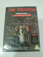 ONE DIRECTION WHERE WE ARE LIVE FROM SAN SIRO STADIUM DVD SLIM - REGION 0 NUEVO