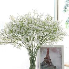 Artificial Gypsophila Fake Silk Flowers Baby Breath Bouquet Home Decor White