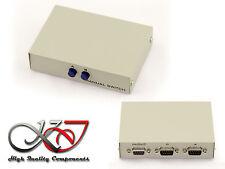 Boitier de Partage SERIE COM RS232 DB9 Switch  2 ports - REVERSIBLE