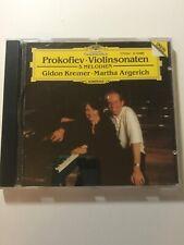 Prokofiev Violinsonaten 5 Melodien CD 1992 Sonata Gildon Kremer Martha Argerich
