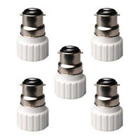 B22 to GU10 Lamp Light Bulb Base Socket Converter Adaptor 5 pack SK E7V0