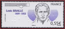 20089 FRANCE N°4324** Louis Braille, France 2009 MNH