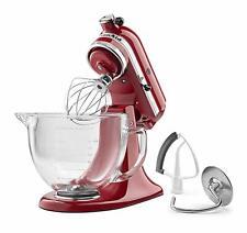 KitchenAid KSM105GBCER 5-Qt. Tilt-Head Stand Mixer with Glass Bowl and Flex Edge
