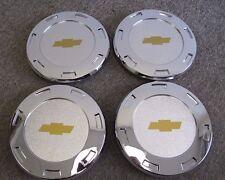 """CHEVROLET CENTER CAPS FOR 22"""" ESCALADE CHROME WHEELS RIMS 5309 SET OF FOUR NEW 4"""