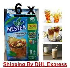 6 x 90g Nestea Nestle Unsweetened 100% Instant Iced Tea Mix Beverages Drink New