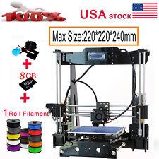 Auto Level DIY 3D Printer Full Kits High Precision Acrylic Frame Reprap Prusa i3