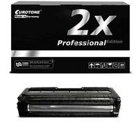 2x Pro Cartridge Black for Ricoh Aficio Sp C-222-dn Sp C-240-sf Sp C-222-sf