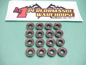 """16 Titanium Retainers 1.160"""" O.D.-1.040"""" Step-.725"""" Locator Xceldyne Del West"""
