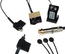 K&K Sound Pure Mini 3 Sensor Guitar Pickup w/Pre-Phase Preamp, Gold Strap Button