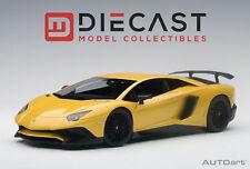 Autoart 74558 Lamborghini Aventador LP750-4 Sv Métallique Jaune 1: 18TH Echelle