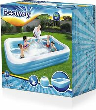 More details for large deluxe inflatable family garden paddling swimming kids summer pool 3 layer