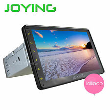 HD Single 1Din DIN GPS Navigation Car Stereo Bluetooth Radio Mirror Link USB SD