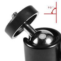 """Mini Black 1/4"""" 360 Swivel Ball Head Screw For Camera Tripod DSLR Ballhead Stand"""