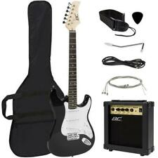 Bcp 41in Beginner Electric Guitar Kit w/ Case, 10W Amp, Tremolo Bar Right-handed