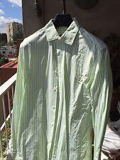 HUGO BOSS T 41 /16 Algodon Camisa Puño Gemelo