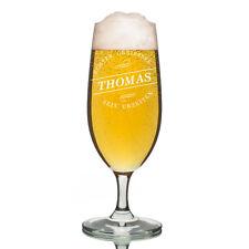 Leonardo vidrio Pilsner Copa de cerveza incl. Grabado geniesser DESDE urzeiten