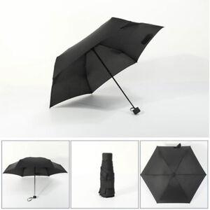 New 2021 Fashion Mini Black Anti-UV Waterproof Portable Travel Small Umbrella