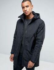 Nike Hip Length Hooded Regular Size Coats & Jackets for Men