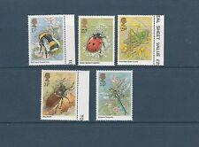 Grande-bretagne   insectes    1985  num: 1173/77  **