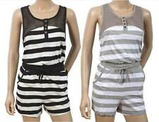 Cotton Blend Scoop Neck Jumpsuits & Playsuits for Women