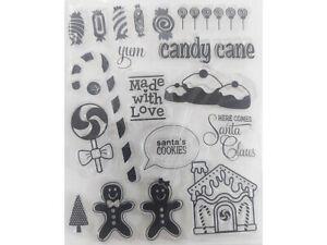 Santa's Cookies Clear Stamp Set