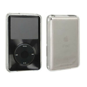 Apple iPod Classic Black / Clear Hard Case Cover 6th 80 120gb 7th 160gb
