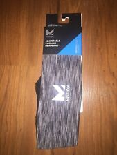 Mission Vaporactive Adjustable Cooling Headband Charcoal Grey New