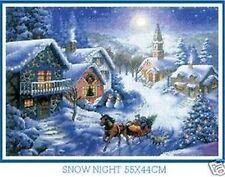 """NEW Cross Stitch Kits""""SNOW NIGHT"""""""