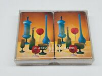 Vintage Kent Playing Cards in Box Double 2 Decks Pottery Art