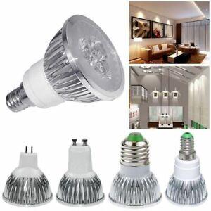 1-8PC GU10 E27 E14 MR16 LED Bulb Spotlight Lamps W/C White 220-240V 9W 12W 15W